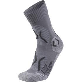 UYN Trekking Cool Merino Socks Women Light Grey Melange/Pearl Grey